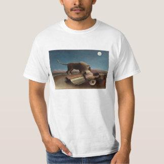 """Henri Rousseau - """"el gitano durmiente """" Camiseta"""