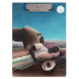 Henri Rousseau el vintage gitano el dormir Carpeta De Pinza