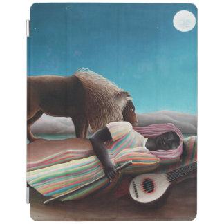 Henri Rousseau el vintage gitano el dormir Cover De iPad
