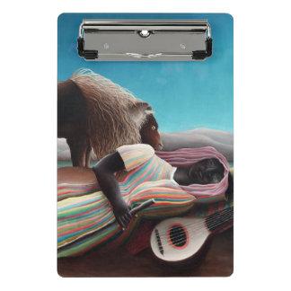 Henri Rousseau el vintage gitano el dormir Minicarpeta De Pinza