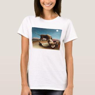 Henri Rousseau la camiseta gitana el dormir