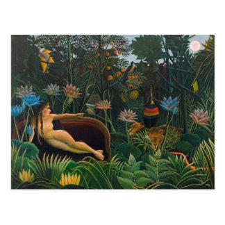 Henri Rousseau la postal del sueño CC0691 Naïvist