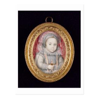 Henry, Príncipe de Gales (retrato miniatura) Postal