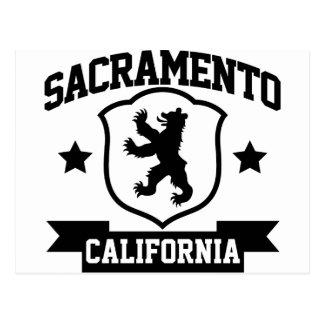 Heráldica de Sacramento Postales