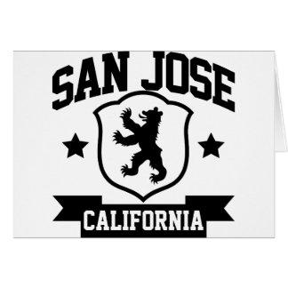 Heráldica de San Jose Tarjeta De Felicitación