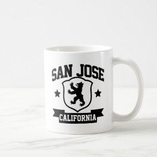 Heráldica de San Jose Taza Básica Blanca