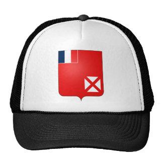 Heráldica oficial del escudo de armas de Wallis Fu Gorros