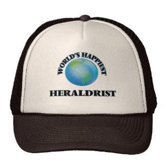 Heraldrist más feliz del mundo gorros bordados