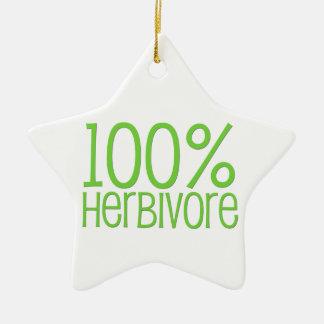 Herbívoro 100% adorno de cerámica