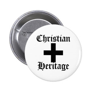 Herencia cristiana pin