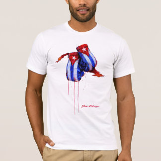 Herencia cubana del boxeo camiseta