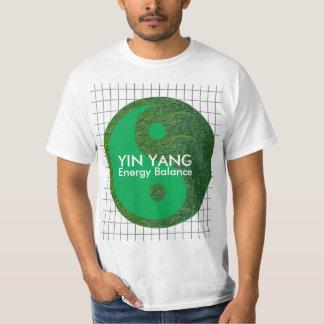 Herencia verde del chino de la balanza YIN YANG Camiseta
