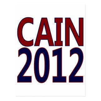Herman Caín 2012 Postal