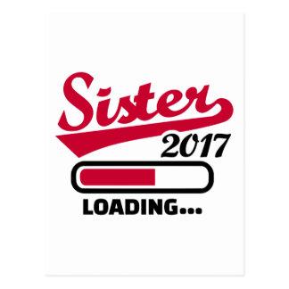 Hermana 2017 postal