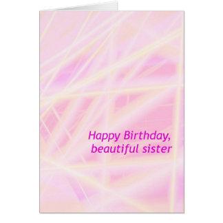 Hermana del feliz cumpleaños tarjetas