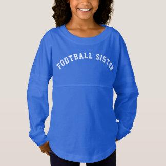 Hermana del fútbol camiseta spirit