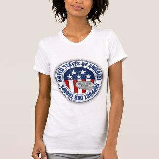 Hermana orgullosa del Guardia Nacional del ejércit Camisetas