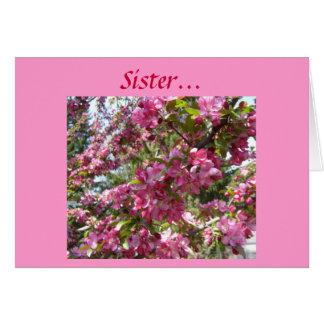 Hermana… Tarjeta De Felicitación