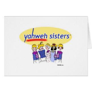 Hermanas de Yahweh Felicitación