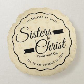 Hermanas en la almohada de Cristo
