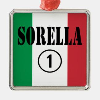 Hermanas italianas: Uno de Sorella Numero Ornamento Para Reyes Magos