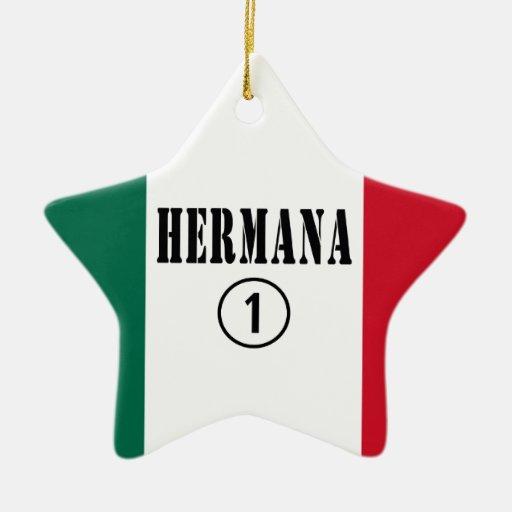 Hermanas mexicanas: Uno de Hermana Numero Ornamentos De Reyes