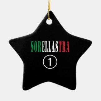 Hermanastras italianas: Uno de Sorellastra Numero Adorno De Cerámica En Forma De Estrella