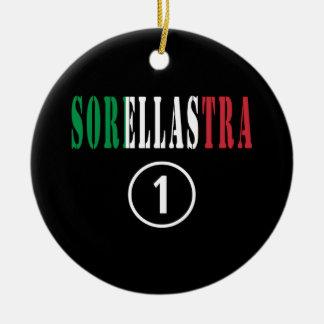 Hermanastras italianas: Uno de Sorellastra Numero Ornamento Para Arbol De Navidad