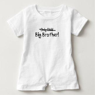 Hermano mayor (hijo único cruzado hacia fuera) body para bebé