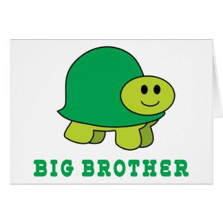 Hermano mayor lindo tarjeta de felicitación