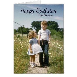 Hermanos cumpleaños, día del Special de la familia Tarjeta De Felicitación