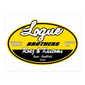 Hermanos de Logue Postal