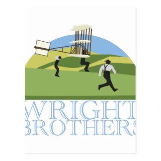 Hermanos de Wright Postal