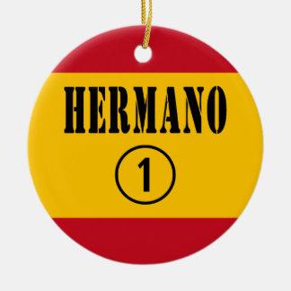Hermanos españoles: Uno de Hermano Numero Ornamento Para Reyes Magos