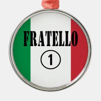 Hermanos italianos: Uno de Fratello Numero Ornamentos Para Reyes Magos