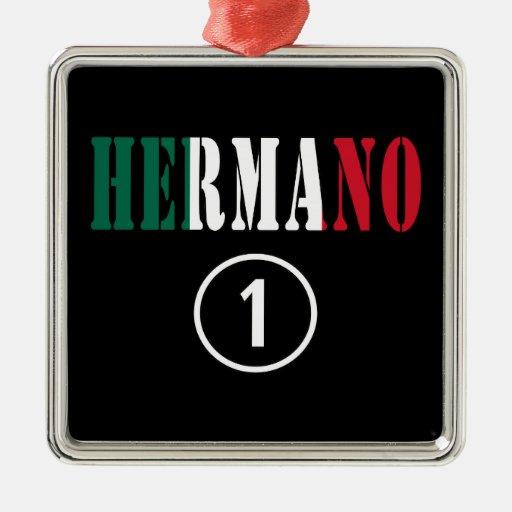 Hermanos mexicanos: Uno de Hermano Numero Ornaments Para Arbol De Navidad