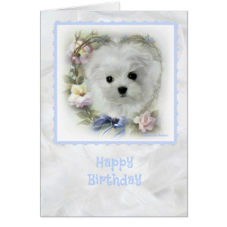 Hermes la tarjeta de cumpleaños maltesa