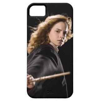 Hermione Granger listo para la acción iPhone 5 Case-Mate Protectores