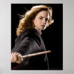 Hermione Granger listo para la acción Poster