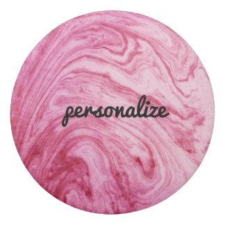 hermoso elegante del modelo de mármol rosado de la goma de borrar