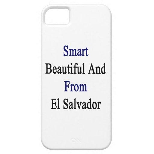 Hermoso elegante y de El Salvador iPhone 5 Case-Mate Fundas