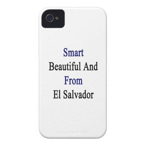 Hermoso elegante y de El Salvador iPhone 4 Case-Mate Cobertura