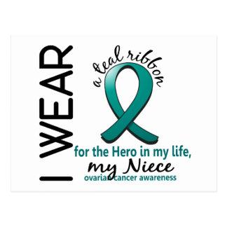 Héroe del cáncer ovárico en mi sobrina 4 de la postal
