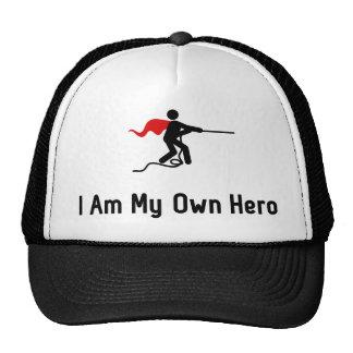 Héroe del esfuerzo supremo gorras de camionero
