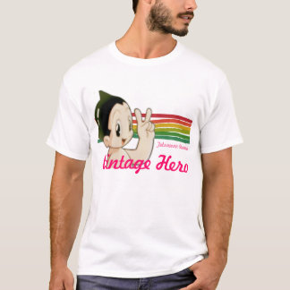 Héroe del vintage camiseta