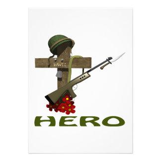 Héroe Anuncio Personalizado
