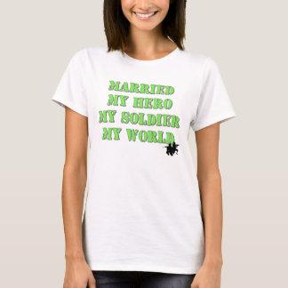 Héroe militar camiseta