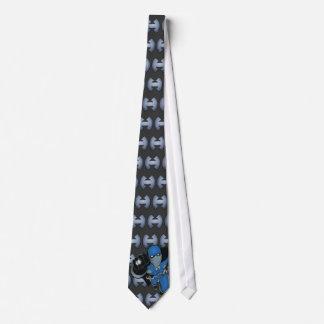 Héroe por el lazo de la noche corbatas personalizadas