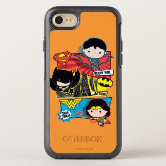 ¡Héroes de Chibi listos para la acción! Funda OtterBox Symmetry Para iPhone 8/7