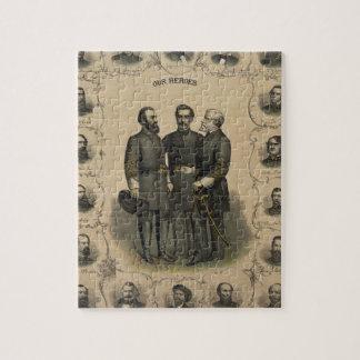 Héroes de la guerra civil puzzle